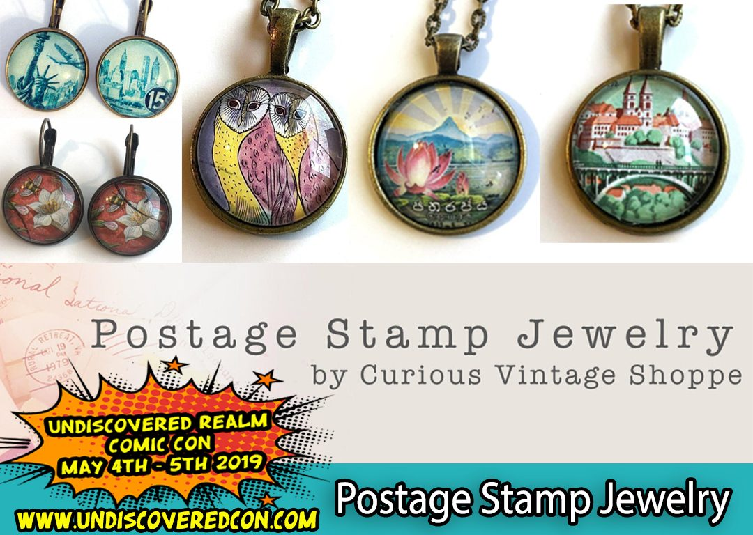 Postage Stamp Jewelry