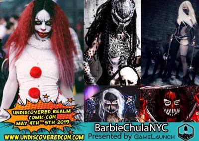 Barbie Chula NYC Cosplay
