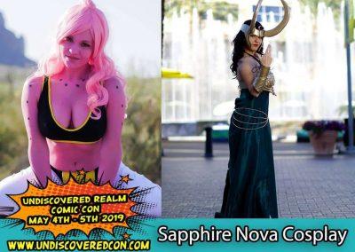 Sapphire Nova Cosplay